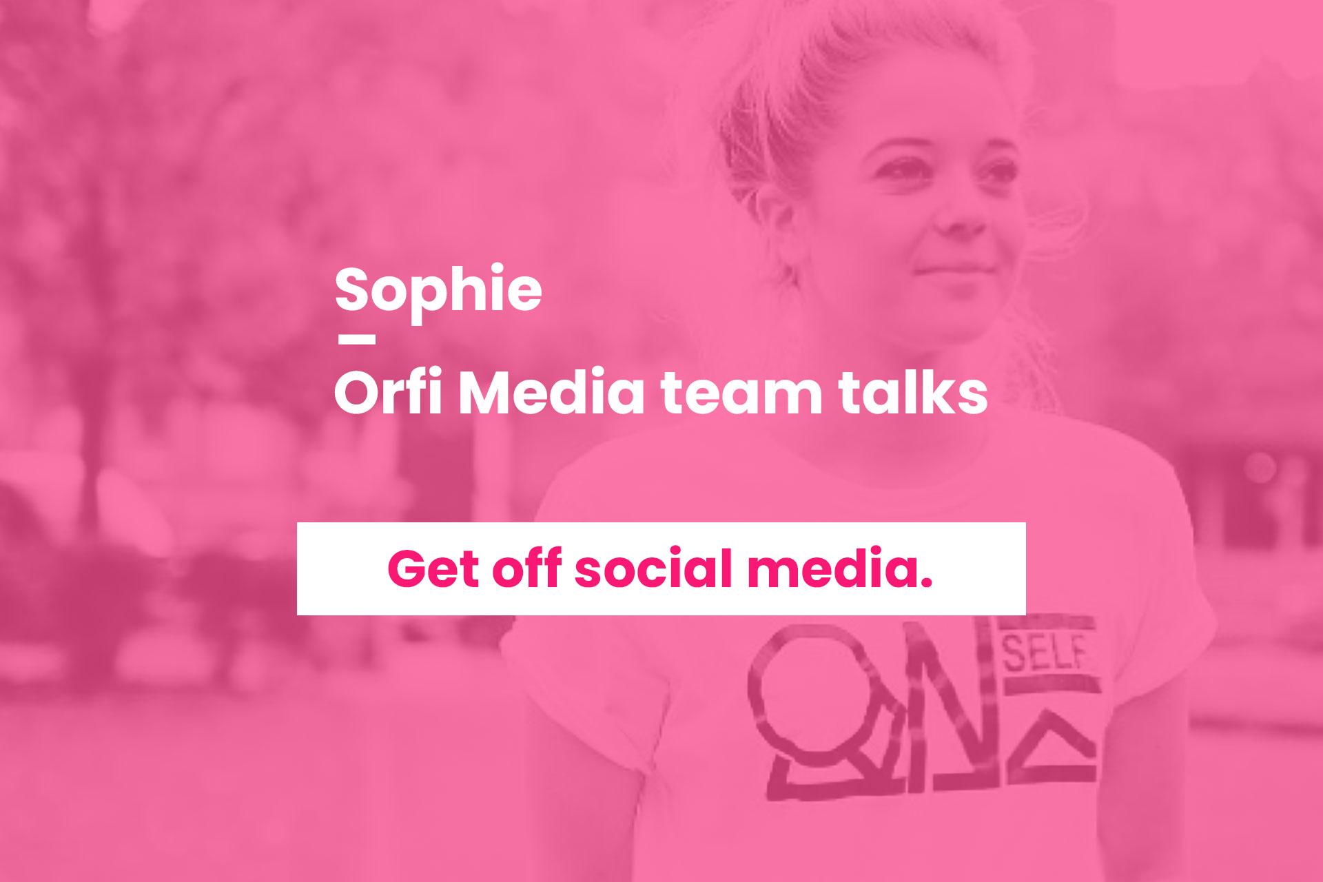 Orfi Media team talks Sophie Binder