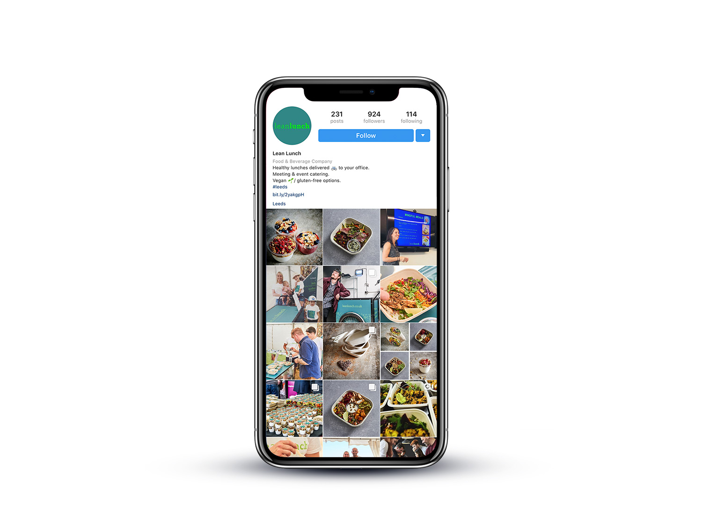 Lean-Lunch-social-media-management-by-Orfi-Media