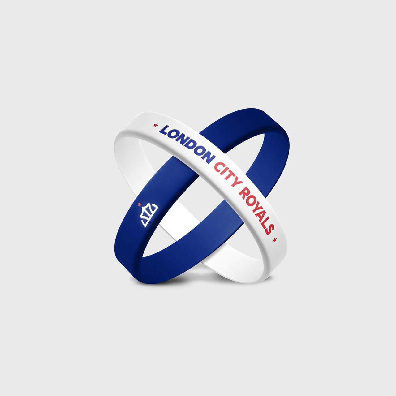 London-City-Royals-basketball-logo-branding-wristbands-by-Orfi-Media