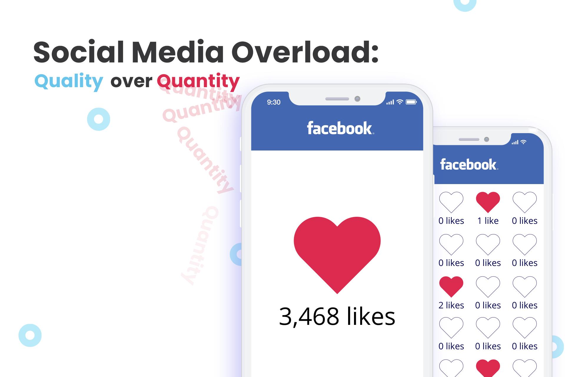 Social media overload: Quality over quantity